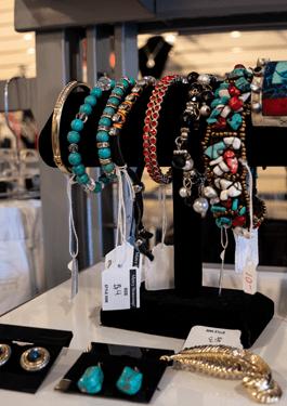 Bracelets and Earrings